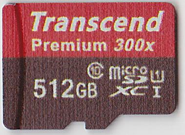 この世に存在しないmicroSD 512GB