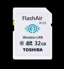 wifi機能付のSDカード